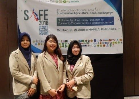 Mahasiswa delegasi Fakultas Biologi UGM