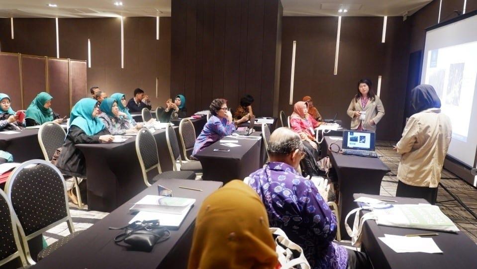 Presentasi mahasiswa delegasi Fakultas Biologi UGM